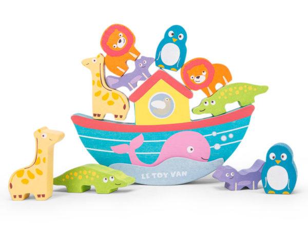 Noemova balansujúca archa hracka pre dieta 600x455 - Noemova balansujúca archa