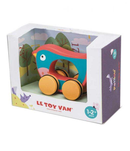 Vtáčik Billie na kolesách_hracka pre deti