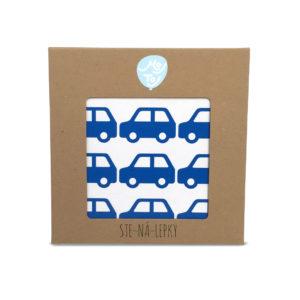 STE-NÁ-LEPKY autíčka modra