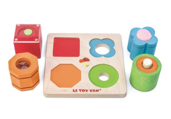 PL093 Senzoricke tvary mini pre deti od 1 roka 600x417 - Petilou senzorické tvary mini