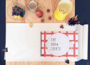 EAT, DRAW, CREATE
