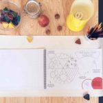 EAT, DRAW, CREATE by Hana interaktivny zosit pre deti