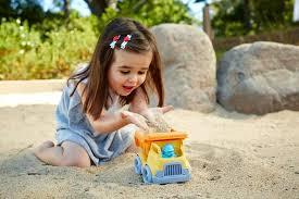 Stavbarsky vyklapac Green Toys hra v piesku - Stavbárske auto