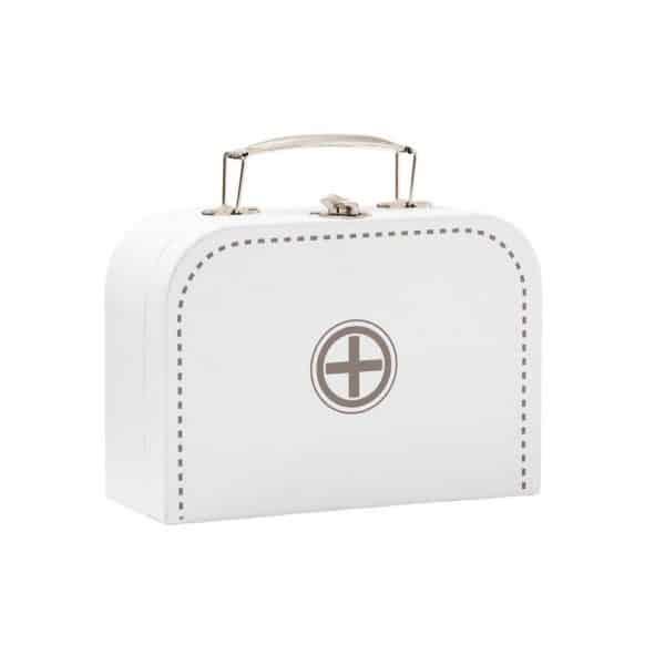 doktorsky kufrik predeti kidsconcept biela mojtojsk 600x600 - Doktorský kufrík Kids Concept – biely