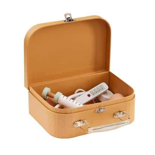 doktorsky set predeti kidsconcept prirodny mojtojsk 600x600 - Doktorský kufrík Kids Concept - prírodný