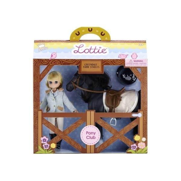 lottiebabika zokejka s konom obal 1 600x600 - Lottie Bábika - Žokejka s koňom