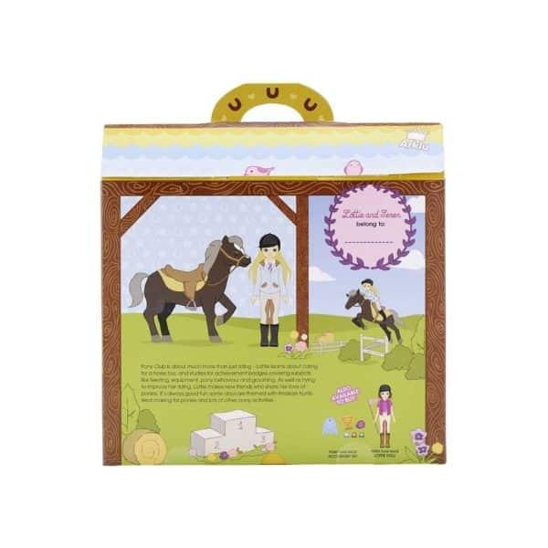 lottiebabika zokejka s konom obal 600x600 - Lottie Bábika - Žokejka s koňom