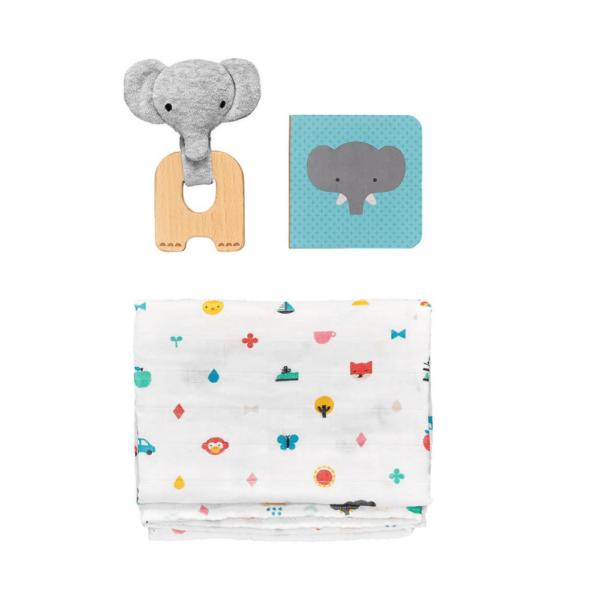 ptc461 darcekovy set opicka petitecollage mojtoj 600x600 - Set pre bábätká - Malý slon