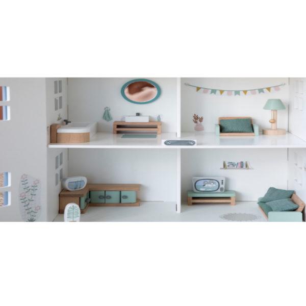 domcek nabytok little dutch mojtojsk 600x600 - Domček s nábytkom Little Dutch